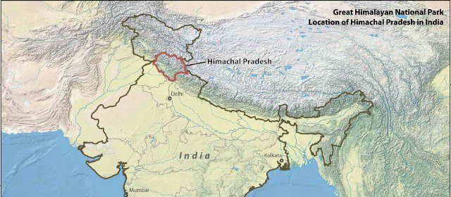 Himachal Pradesh in India