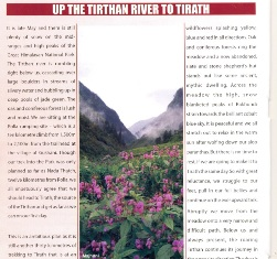 Tirthan Tirath trek by Payson R Stevens