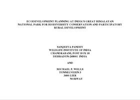 Pandey Wells paper GHNP Ecodev 1997