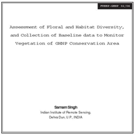 Research Floral and Habitat Diversity Assessment of GHNP by Singh