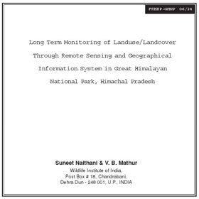 Research GHNP Remote Sensing and GIS by Naithani & Mathur
