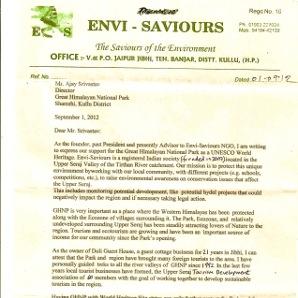 B.S Rana, EnviSaviors