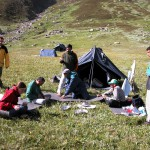 Camping in Jiwa Valley, GHNP