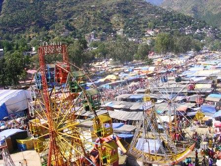 Kullu Dushera is fun time for residents of Kullu Valley and tourists, usually in October.