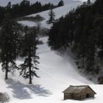 GHNP Dhel Meadow (3737 m) under Snow