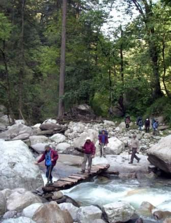 GHNPCA is an example for the Community Based Ecotourism in the Himalayas.