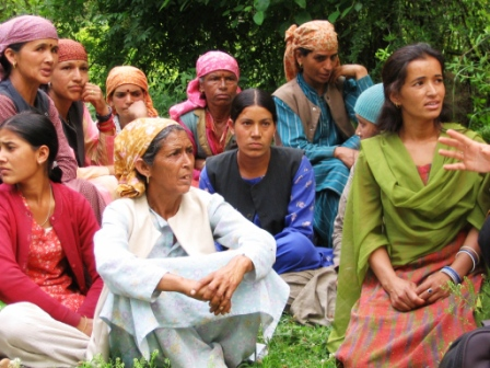 In a small women group, the consultation among all the group members is facilitated which is the most important aspect of participatory management.