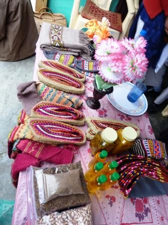 Timely marketing of produce by the WSCGs members facilitate good price of their handicraft, apricot oil and rugs.