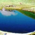 Sartoo, a Glacial Lake at the Origin of Jiwa Nal, GHNP 3,600 m