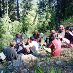 Women Saving and Credit Group in a Field Meeting, Sainj