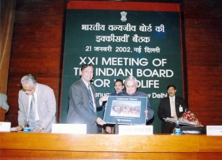Four posters Conserve Nature, Protect Nature, Celebrate Nature and Respect Nature designed by Friends of GHNP were released by the then Prime Minister of India during 21st meeting of Indian Board of Wildlife on 21st January 2002.