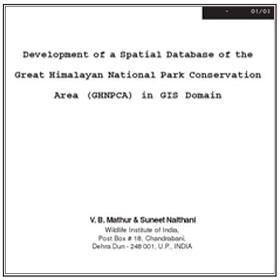 Research GHNP Spatial Database-Dev by Mathur & Naithani