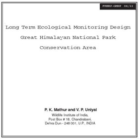 Research Long Term Ecological Monitoring by Mathur & Uniyal