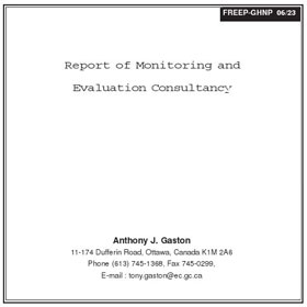 Research Monitoring and Evaluation by Gaston