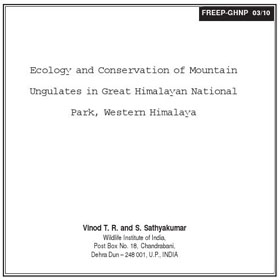Research Mountain Ungulate Ecology by Vinod & Sathya
