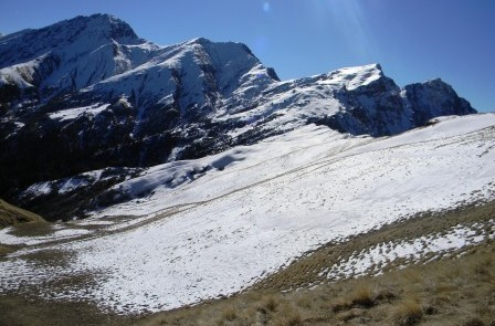Dhel Meadow (3737 m Alt) in Sainj Valley