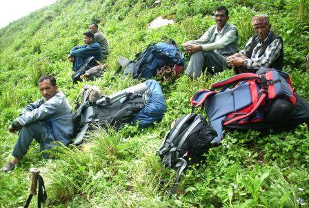 Previously herb collectors, the male members from Ecozone are now working in Eco-tourism