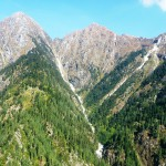 Himalayan Conifer Forests by air GHNP