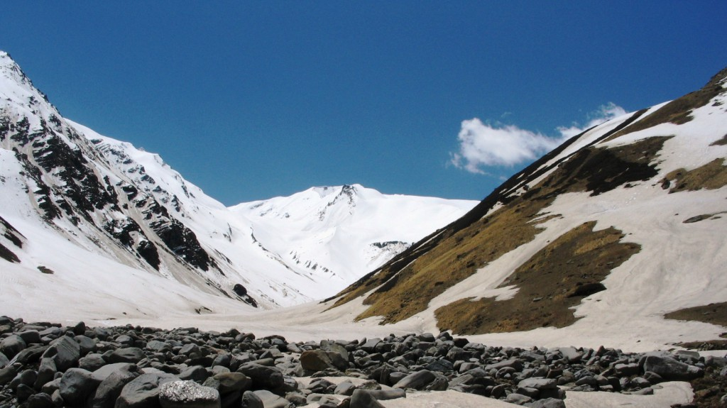 Tirath (3800 m), Origin of Tirthan River