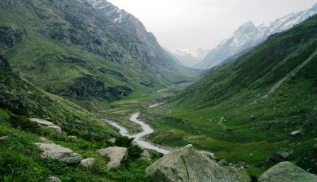 Meadows of the Upper Parvati Valley (3800m alt)